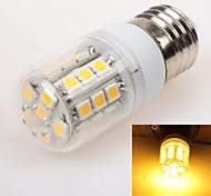 E26/E27 3W 27 SMD 5050 240 LM Warm White T LED Corn Lights AC 220-240 V