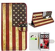 El caso del patrón del Union Jack cubre con ranura para tarjetas y soporte para LG LS990 D855 G3