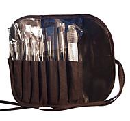 7 Pcs Black Cosmetic Brush Set