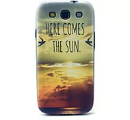 The Sunrise Pattern Hard Case Cover for Samsung Galaxy S3 I9300