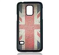 Union Jack padrão caixa de plástico para Samsung Galaxy Mini S5 G800