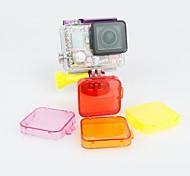 Cubierta del filtro de GoPro HD Hero 3 + Bajo el mar 4 colores disponibles