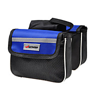 ACACIA 600D Polyester Fabric 210D Polyester Lining Blue EVA Bike Frame Bag