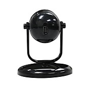 Wireless Wi-Fi Webcam Adapter Stand w/ AC Adapter / Car Charger - Black