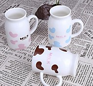 Creative Lovely Milk Cup Mark Cup (250 ml)