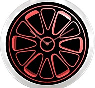 Rad-Reifen-Dream Car LED-Leuchtreklame-Wanduhr