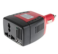 150W DC 12V to AC 220V Power Inverter with USB 5V Output with Cooling Fan