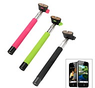 Wireless Bluetooth Mobile Phone Monopod for iOS 4.0 and Above System - Black,green, Pink