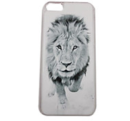 The Powerful Lion Pattern PC Back Case for iPhone 5C