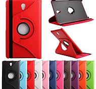 """360 Grad PU 8.4 """"Case mit Ständer für Samsung Galaxy Tab S T700 (verschiedene Farben)"""