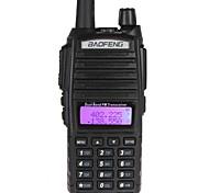 BAOFENG UV-82 Rádio de Comunicação 128CH 400 - 470 MHz / 136 - 174 MHz 1800mAh 5 - 10 km Rádio Emissor-Receptor
