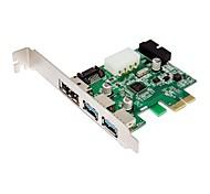 SUNWEIT PCI-E USB 3.0 SATA ESATA Add On Cards