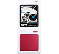 "ONN Q7 Ultra-Slim 1.8 Player ""MP3 pantalla con TF / FM-Rojo (8GB)"