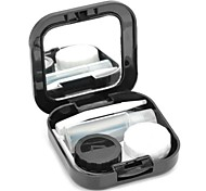 Kontaktlinsen Tasche - Schwarz