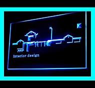 interior design, publicidade levou sinal de luz