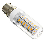 B22 6 W 42 SMD 5730 420 LM Warm White T Corn Bulbs AC 220-240 V