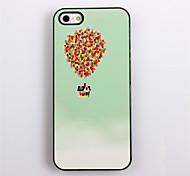 Colorful Hard Case Balloon Design aluminio para el iPhone 4/4S
