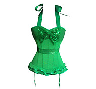 Club Queen Deluxe Sequin Bow Sweet Lolita Corset