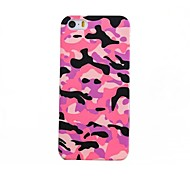 Camouflage Pattern PC Hard Case with Glow in The Dark for iPhone 5/5S