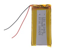 3.7V 800mAh Lithium Polymer Battery for Cellphones  MP3  MP4 (41*29*65)