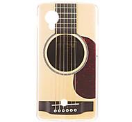 Kinston деревянный шаблон гитара ТПУ Мягкий обложка чехол для Google Nexus LG 5