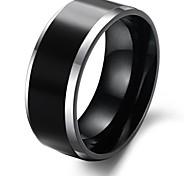 Fashion Design Black Color Ceramic Ring