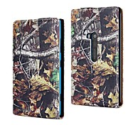 Winter Style Tree Pattern PU Leather Full Body Case for Nokia Lumia 920/N920