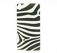 Kinston modello della zebra TPU morbida per HTC Desire 816