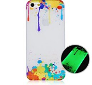CaseBox® Oil Paint Pattern Fluorescence after Sunniness Hard Back Case for iPhone5/5S