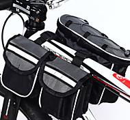 ACACIA 4-in-1 600D High Density Woven Fabric Gray Muti-functional Bike Frame Bag