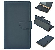 High Quality Solid Color PU Leather Full Body Case with Stand and Card Slot for Sony Xperia Z2(Assorted Colors)