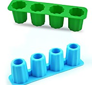 Cool Shooters Ice Mould Silicone Random Color (8x2x2 inch)