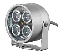 MHS ® 8W 4-LED 850nm Night Vision Infrared Illumination Lamp for Camera