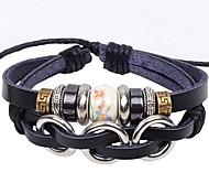 Unisex's Three Comic Ceramic Bracelet