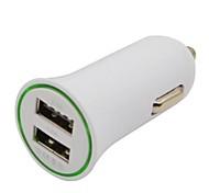 2.1A / 1A Dual-USB мини адаптер Авто Автомобильное зарядное устройство для IPhone IPod смартфоны