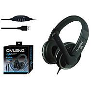 Ovleng Q6 Super Bass USB Headphone