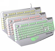 Dare-u The Judge USB Wired 3 Backlit 19Key Gaming Keyboard-White