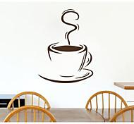 JiuBai™ Coffee Cup Pattern Wall Sticker Wall Decal, 44cm*60cm