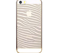 Devia Glimmer Series Zebra Version Electroplated Transparent PC Hard Case for iPhone 5/5S (Assorted Colors)