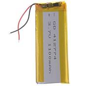 3.7V 1100mAh de litio polímero de litio para teléfonos móviles MP3 MP4 (41 * 27 * 74)