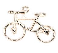 Legierung Fahrrad diy Charme-Anhänger&Halskette (10 Stück pro Packung)