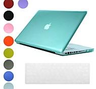 Translucent Design PC Hard Case with Keyboard Cover Skin for MacBook Pro(Assorted Colors)