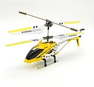 s107 klein pakket 3-kanaals infrarood afstandsbediening mini helikopter met gyro