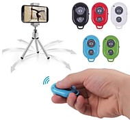 bluetooth remote autocontrollo otturatore della fotocamera timer per iPhone / iPad e Android Phone (colori assortiti)
