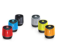 Mini Portable Wireless Bluetooth Stereo Speaker with TF / FM / Microphone-(Red /Silver /Yellow /)