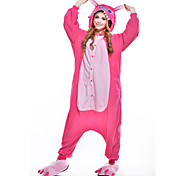 New Cosplay  Rose Stitch Polar Fleece Adult Kigurumi Pajama
