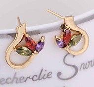 New Fashion  18K Gold Plated Accessories Stud Earring ERZ0252