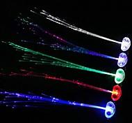 luz comodo llevó la noche emitiendo trenza flash (color al azar)