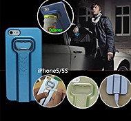 New USB Charging Cigarette Lighter  with Bear Bottle Opener Case for iPhone 5/5S(Assorted Colors)