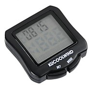 Bike Computer,Cycling Mini Waterproof Black Computer Odometer&Speedometer